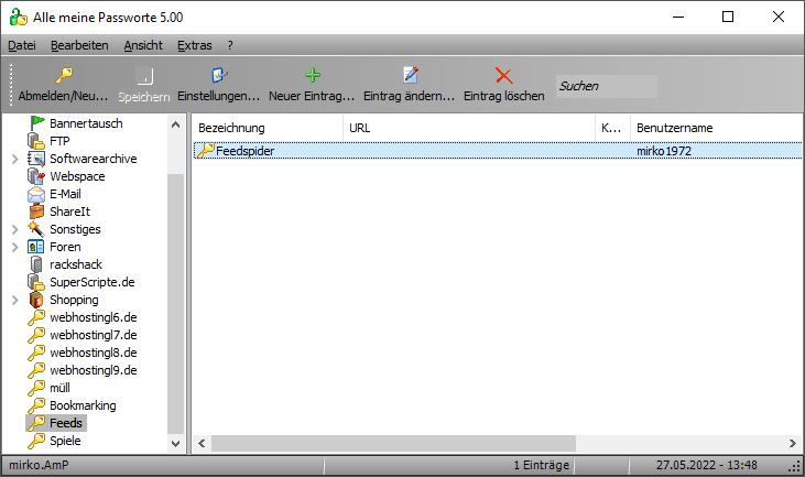 Alle meine Passworte (AmP) x64